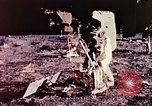 Image of Apollo 11 astronauts first humans on moon Florida United States USA, 1969, second 42 stock footage video 65675067953