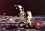 Image of Apollo 11 astronauts first humans on moon Florida United States USA, 1969, second 45 stock footage video 65675067953