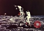 Image of Apollo 11 astronauts first humans on moon Florida United States USA, 1969, second 46 stock footage video 65675067953