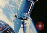 Image of Gemini spacecraft in docking and maneuvering practice United States USA, 1966, second 38 stock footage video 65675068012