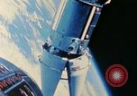 Image of Gemini spacecraft in docking and maneuvering practice United States USA, 1966, second 39 stock footage video 65675068012