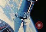 Image of Gemini spacecraft in docking and maneuvering practice United States USA, 1966, second 40 stock footage video 65675068012