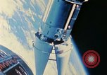 Image of Gemini spacecraft in docking and maneuvering practice United States USA, 1966, second 42 stock footage video 65675068012