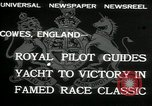 Image of Regatta Cowes England, 1932, second 2 stock footage video 65675068206