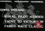 Image of Regatta Cowes England, 1932, second 3 stock footage video 65675068206