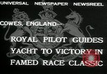 Image of Regatta Cowes England, 1932, second 5 stock footage video 65675068206