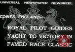 Image of Regatta Cowes England, 1932, second 8 stock footage video 65675068206