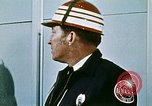 Image of fire fighting drills United States USA, 1971, second 24 stock footage video 65675068269