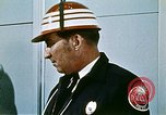 Image of fire fighting drills United States USA, 1971, second 27 stock footage video 65675068269