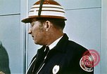 Image of fire fighting drills United States USA, 1971, second 32 stock footage video 65675068269