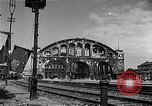 Image of bombed station Berlin Germany, 1945, second 4 stock footage video 65675069007