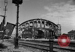 Image of bombed station Berlin Germany, 1945, second 6 stock footage video 65675069007