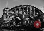 Image of bombed station Berlin Germany, 1945, second 8 stock footage video 65675069007