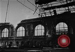 Image of bombed station Berlin Germany, 1945, second 11 stock footage video 65675069007