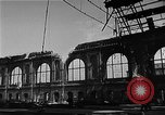 Image of bombed station Berlin Germany, 1945, second 13 stock footage video 65675069007