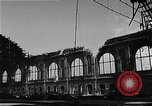 Image of bombed station Berlin Germany, 1945, second 15 stock footage video 65675069007