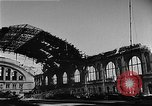 Image of bombed station Berlin Germany, 1945, second 18 stock footage video 65675069007