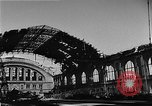 Image of bombed station Berlin Germany, 1945, second 19 stock footage video 65675069007