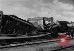 Image of bombed station Berlin Germany, 1945, second 23 stock footage video 65675069007