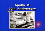 Image of 20th Anniversary of Apollo 11 United States USA, 1989, second 39 stock footage video 65675069518