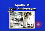 Image of 20th Anniversary of Apollo 11 United States USA, 1989, second 41 stock footage video 65675069518