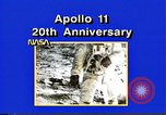 Image of 20th Anniversary of Apollo 11 United States USA, 1989, second 42 stock footage video 65675069518
