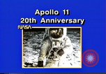 Image of 20th Anniversary of Apollo 11 United States USA, 1989, second 44 stock footage video 65675069518