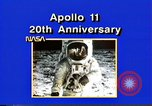 Image of 20th Anniversary of Apollo 11 United States USA, 1989, second 45 stock footage video 65675069518