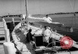Image of Yachts race Newport Rhode Island USA, 1962, second 22 stock footage video 65675069565