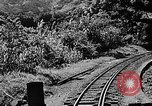 Image of Steam locomotive pushing a train backwards Taiwan, 1940, second 12 stock footage video 65675069924