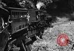 Image of Steam locomotive pushing a train backwards Taiwan, 1940, second 13 stock footage video 65675069924