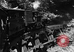 Image of Steam locomotive pushing a train backwards Taiwan, 1940, second 16 stock footage video 65675069924