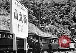 Image of Steam locomotive pushing a train backwards Taiwan, 1940, second 49 stock footage video 65675069924