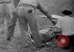 Image of aircraft rescue operation test United States USA, 1944, second 18 stock footage video 65675069988