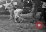 Image of aircraft rescue operation test United States USA, 1944, second 35 stock footage video 65675069988