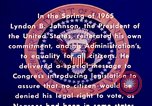 Image of voting rights legislation United States USA, 1965, second 6 stock footage video 65675070903