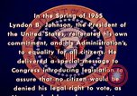 Image of voting rights legislation United States USA, 1965, second 14 stock footage video 65675070903