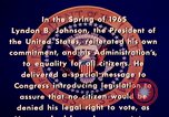 Image of voting rights legislation United States USA, 1965, second 16 stock footage video 65675070903