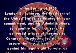 Image of voting rights legislation United States USA, 1965, second 17 stock footage video 65675070903
