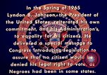 Image of voting rights legislation United States USA, 1965, second 20 stock footage video 65675070903