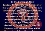 Image of voting rights legislation United States USA, 1965, second 21 stock footage video 65675070903