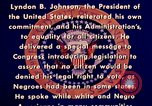 Image of voting rights legislation United States USA, 1965, second 23 stock footage video 65675070903
