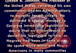 Image of voting rights legislation United States USA, 1965, second 24 stock footage video 65675070903