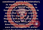 Image of voting rights legislation United States USA, 1965, second 27 stock footage video 65675070903