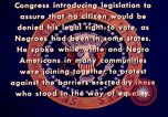 Image of voting rights legislation United States USA, 1965, second 33 stock footage video 65675070903