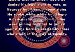 Image of voting rights legislation United States USA, 1965, second 36 stock footage video 65675070903