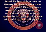 Image of voting rights legislation United States USA, 1965, second 37 stock footage video 65675070903