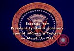 Image of voting rights legislation United States USA, 1965, second 51 stock footage video 65675070903