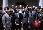 Image of civil rights leaders Washington DC USA, 1963, second 12 stock footage video 65675070908