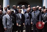 Image of civil rights leaders Washington DC USA, 1963, second 13 stock footage video 65675070908